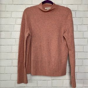 Madewell Sweaters - Madewell Pullover Sweater Mock Neck Wool Blend L